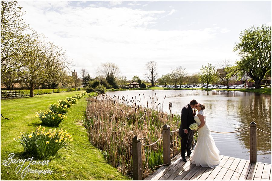 Creative wedding photographs from recommended wedding photographer at The Moat House in Acton Trussell by Award Winning Wedding Photographer Barry James