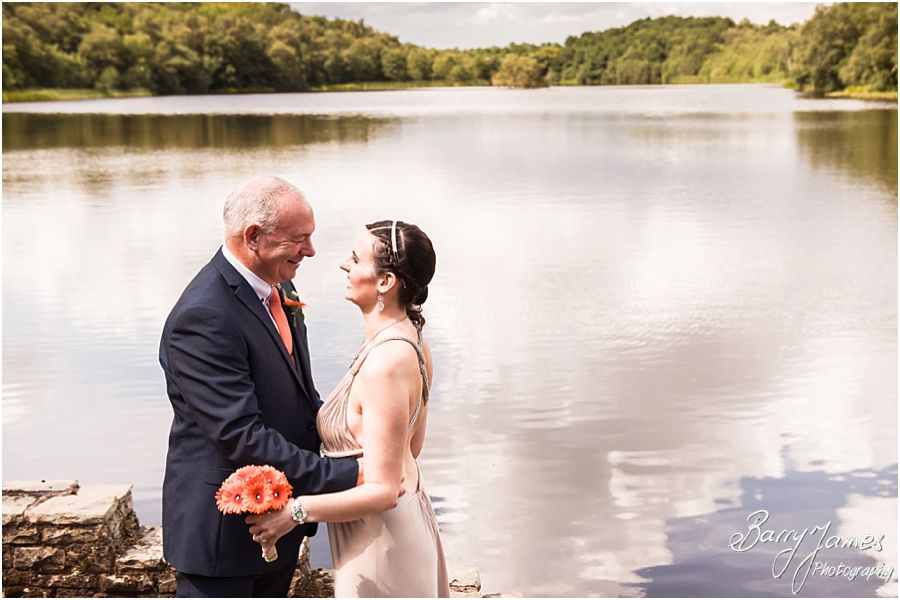 Timeless beautiful wedding photographs at Boat House in Sutton Park by Sutton Coldfield Professional Wedding Photographer Barry James