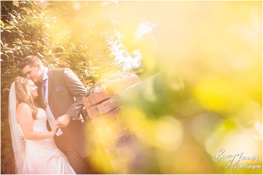 Reportage moments and contemporary portraits come together to make perfect wedding photographs for wedding at Oak Farm Hotel in Cannock by Cannock Wedding Photographer Barry James