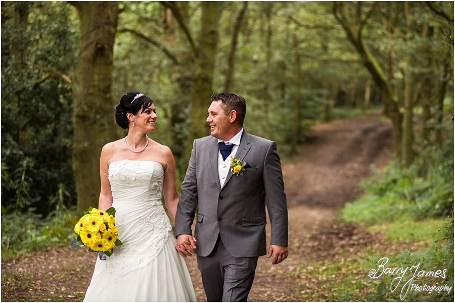 Contemporary and candid wedding photographs at Shoal Hill in Cannock Chase by Experienced Contemporary Candid and Creative Wedding Photographer Barry James