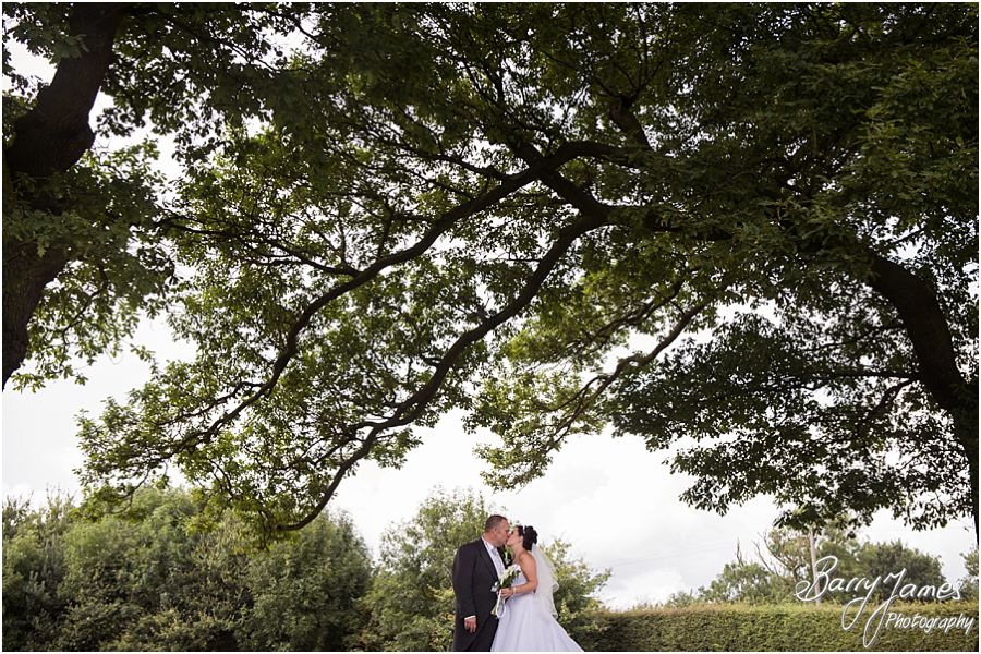 Contemporary and candid wedding photography producing a timeless storybook album for wedding at Oak Farm Hotel in Cannock by Cannock Wedding Photographer Barry James