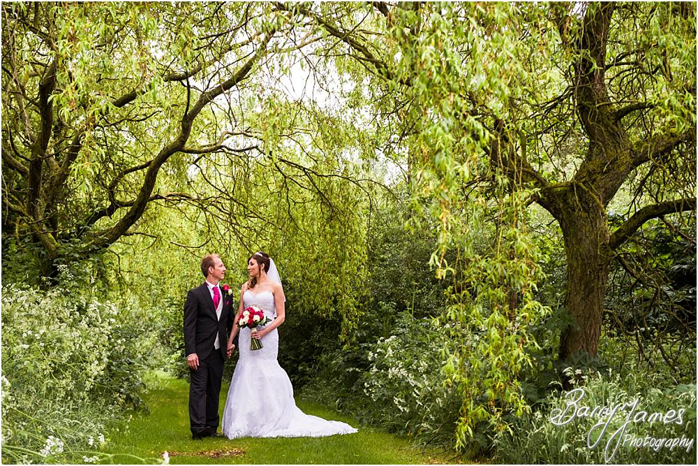 Creative wedding photographs from Walsall Wedding Photographers at Calderfields in Walsall