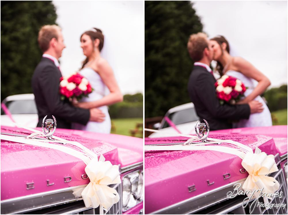 Stunning wedding cars at Calderfields in Walsall by Walsall Wedding Photographers Barry James