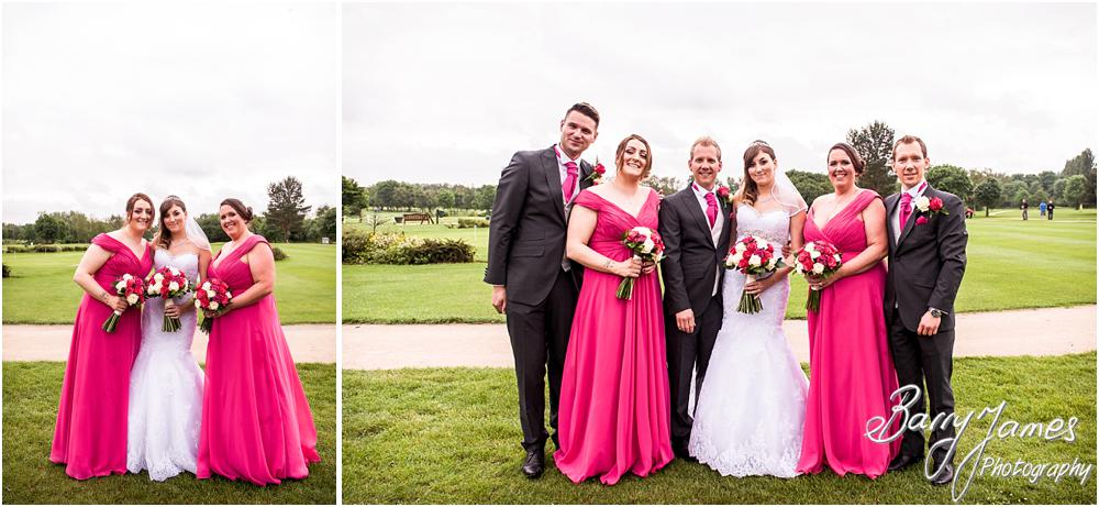 Relaxed photographs of the family on the lawns at Calderfields in Walsall by Walsall Wedding Photographers Barry James