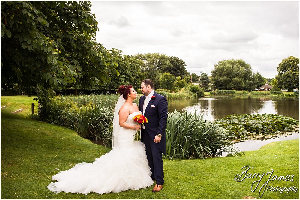 Gorgeous wedding photographs at The Moat House in Staffordshire by Stafford Wedding Photographer Barry James