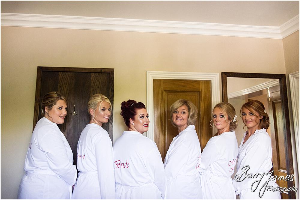 Candid photographs of the bridal party at The Moat House in Staffordshire by Stafford Wedding Photographer Barry James