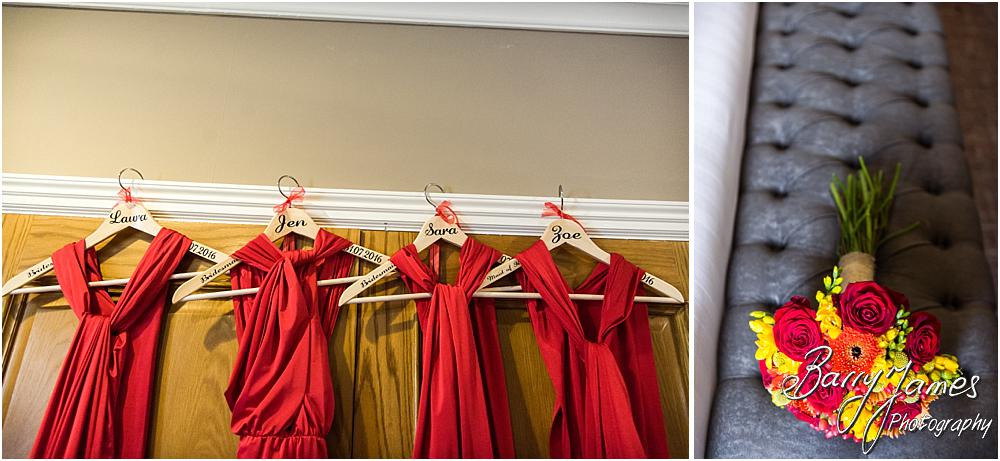 Creative details photographs at The Moat House in Staffordshire by Stafford Wedding Photographer Barry James