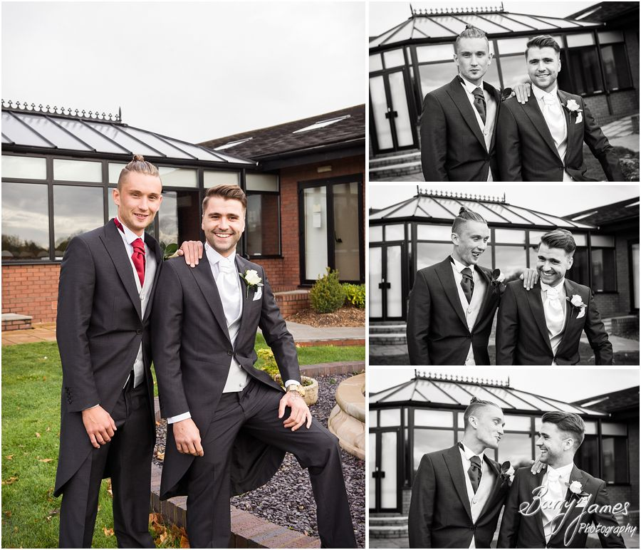 Contemporary and creative wedding photographs at Calderfields Golf Club in Walsall by Walsall Wedding Photographer Barry James
