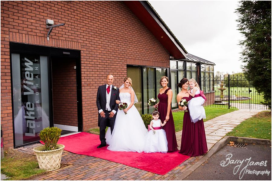 Gorgeous wedding photographs at Calderfields Golf Club in Walsall by Walsall Wedding Photographer Barry James