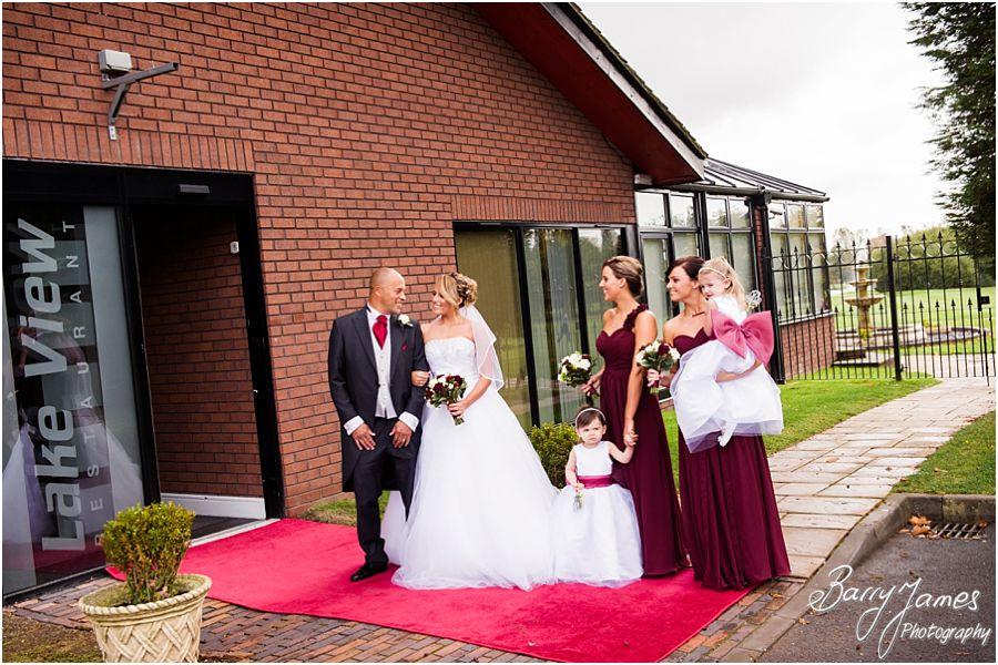 Creative timeless wedding photographs at Calderfields Golf Club in Walsall by Walsall Wedding Photographer Barry James