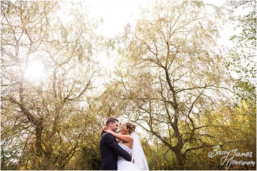 Creative and candid wedding photographs at Calderfields Golf Club in Walsall by Walsall Wedding Photographer Barry James