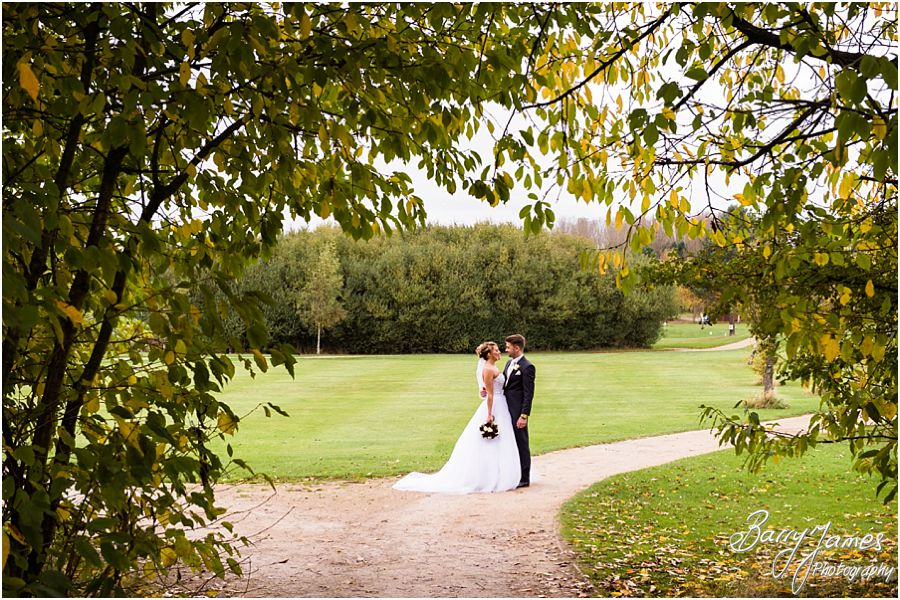 Beautiful wedding photography at Calderfields Golf Club in Walsall by Walsall Wedding Photographer Barry James