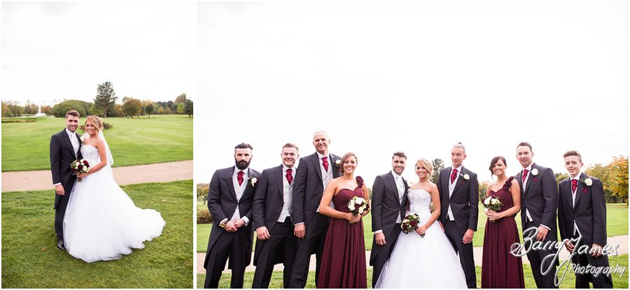 Storytelling fun wedding photography at Calderfields Golf Club in Walsall by Walsall Wedding Photographer Barry James