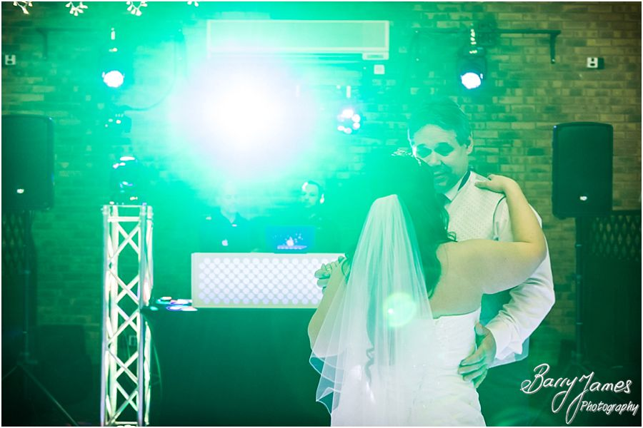 Emotional dance with the Brides Father at The Chase in Cannock by Walsall Wedding Photographer Barry James