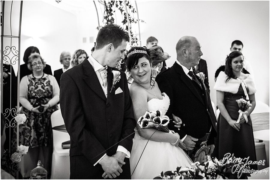 Creative contemporary wedding photography at The Mill in Worston by Eccleshall Wedding Photographer Barry James
