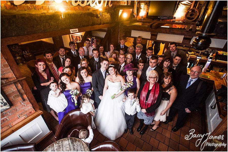 Relaxed family photographs at The Mill in Worston by Creative Contemporary Wedding Photographer Barry James