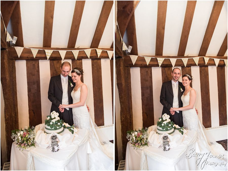 The Colin Lewis Suite set up beautifully for a small intimate wedding breakfast at The Moat House in Acton Trussell by Staffordshire Wedding Photographer Barry James