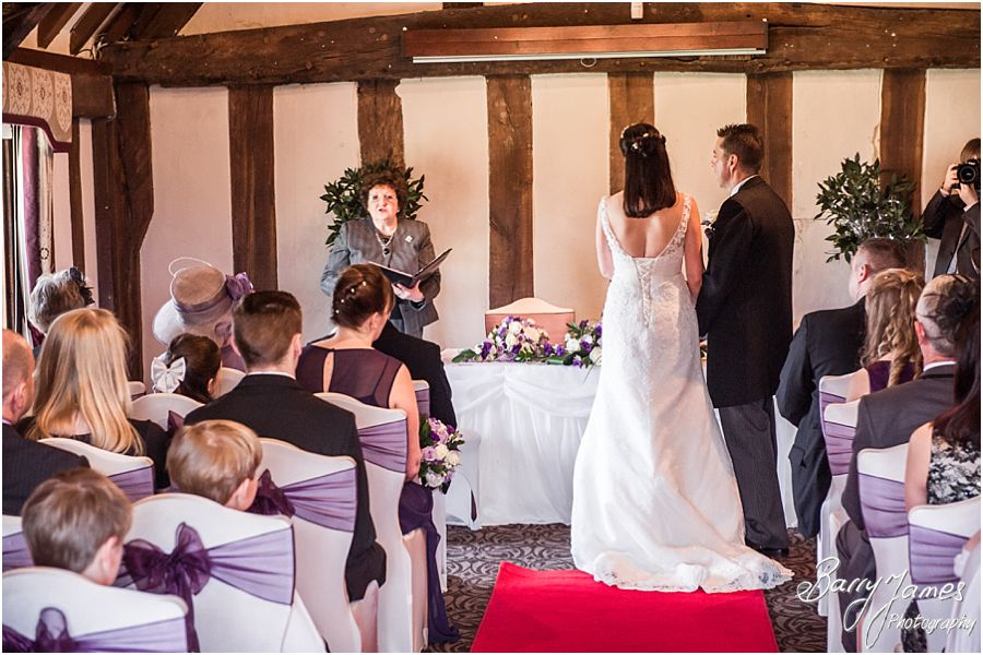 Creative modern wedding photography that eschews the cheese for natural fun during wedding day at The Moat House in Acton Trussell by Award Winning Wedding Photographer Barry James