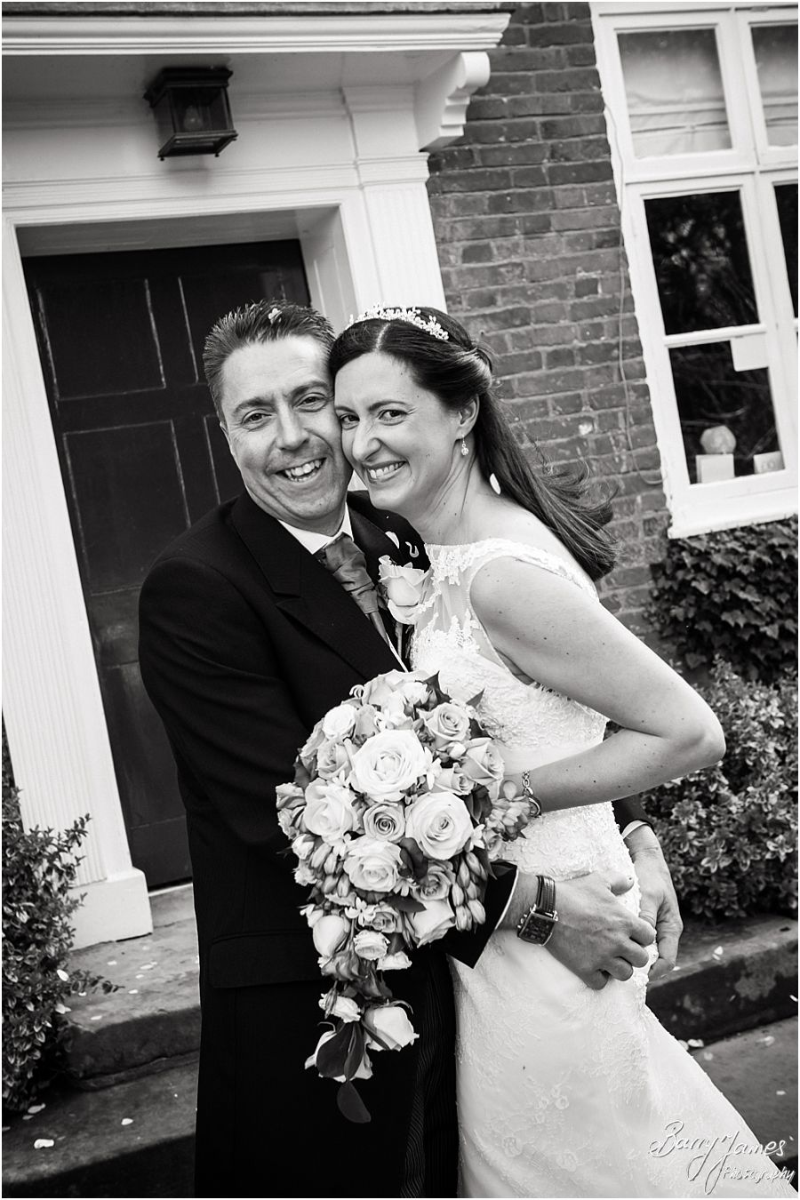 Contemporary and creative wedding photography capturing the beautiful wedding story at The Moat House in Acton Trussell by Stafford Wedding Photographer Barry James