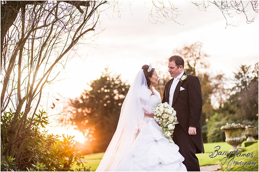 Reportage wedding photographs at home in Brewood by Stafford Wedding Photographer Barry James