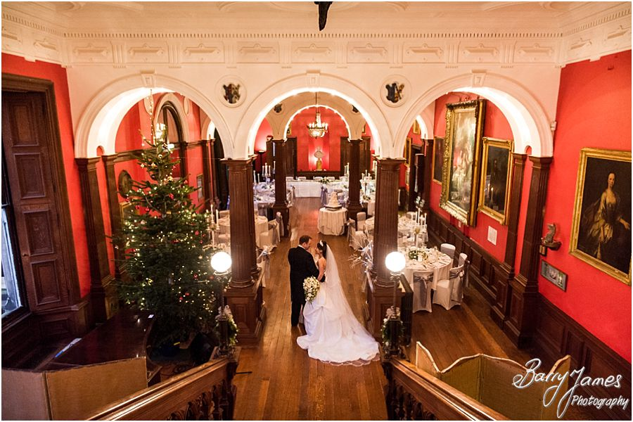 Award winning unobtrusive wedding photography at Sandon Hall in Stafford by Professional Wedding Photographers Barry James