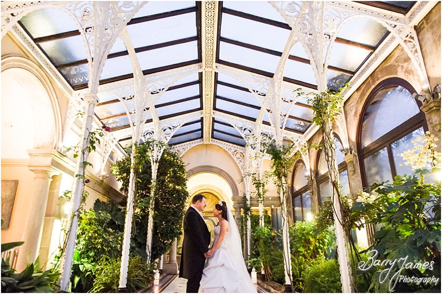 Creative contemporary and unobtrusive wedding photography at Sandon Hall in Stafford by Preferred Wedding Photographers Barry James