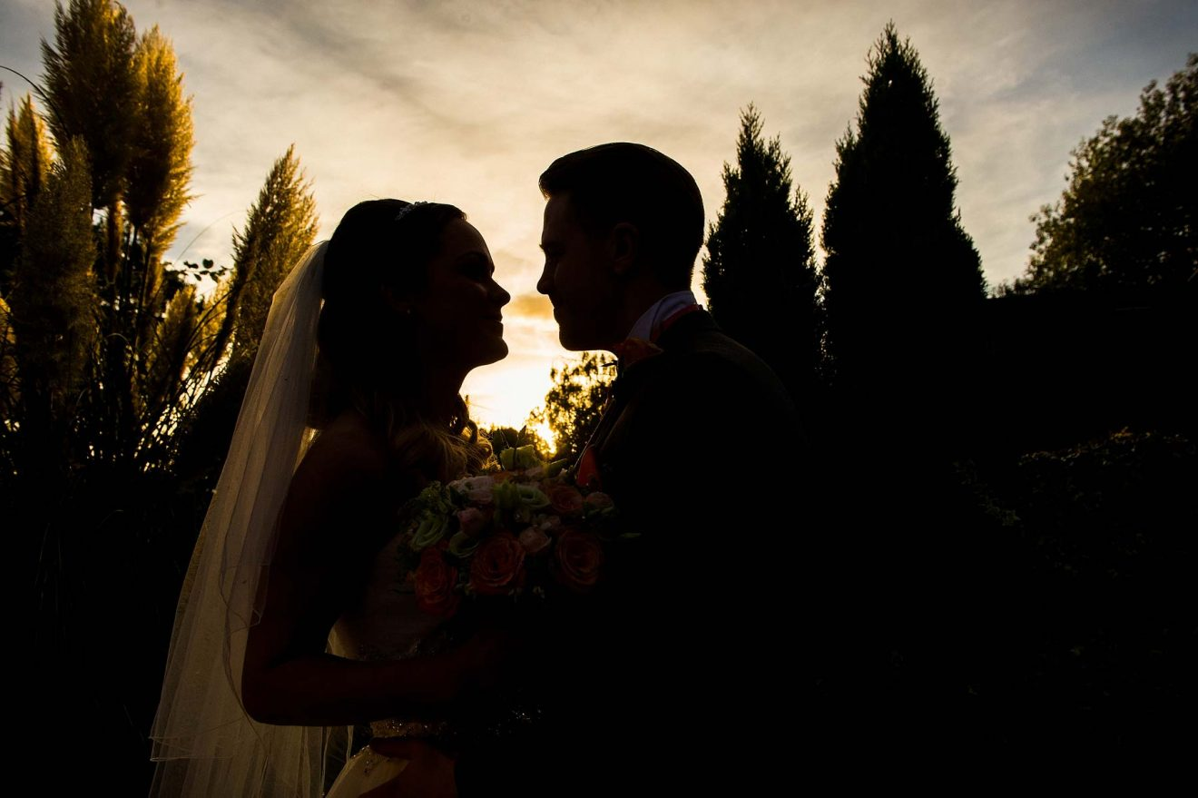 Gorgeous Wedding Photographs In Staffordshire By Creative Photographer Barry James