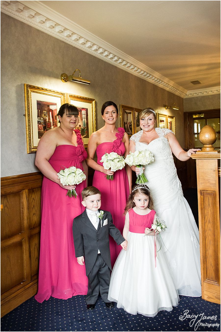Unobtrusive, relaxed wedding photographs at The Moat House in Acton Trussell that tell the beautiful wedding story by Acton Trussell Wedding Photographer Barry James