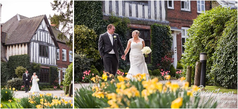 Beautiful relaxed spring wedding photography at The Moat House in Acton Trussell by Award Winning Wedding Photographer Barry James