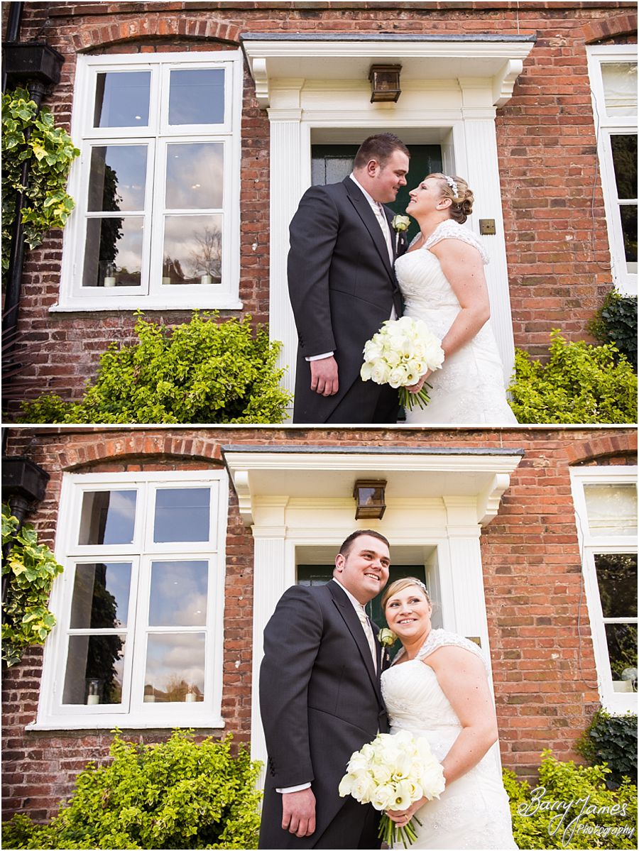 Stunning wedding photography from professional wedding photographers at The Moat House in Acton Trussell by Award Winning Wedding Photographer Barry James