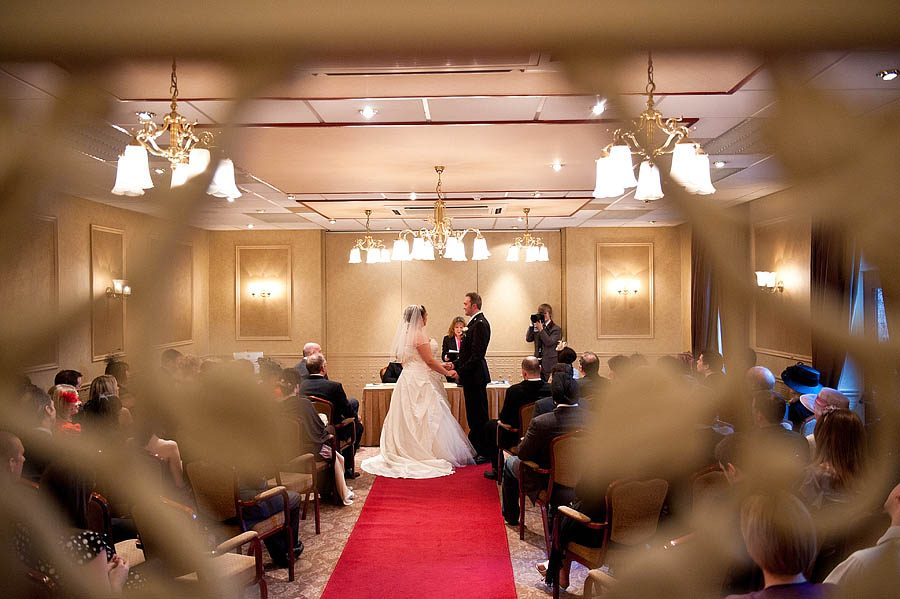 Contemporary creative wedding photographs at Fairlawns Hotel in Streetly by Reportage Wedding Photographer Barry James