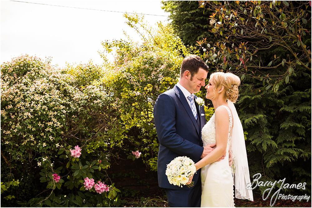 Creative wedding photography at Oak Farm Hotel in Cannock by Cannock Wedding Photographers Barry James