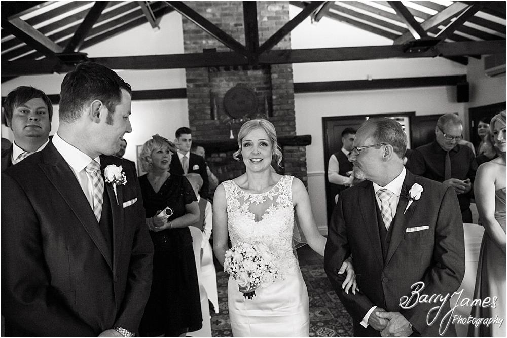 Candid photographs that capture the emotion of the wedding day at Oak Farm Hotel in Cannock by Cannock Wedding Photographers Barry James