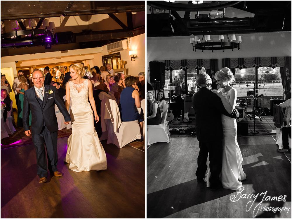 Emotional dance between father and bride at Oak Farm Hotel in Cannock by Cannock Wedding Photographers Barry James