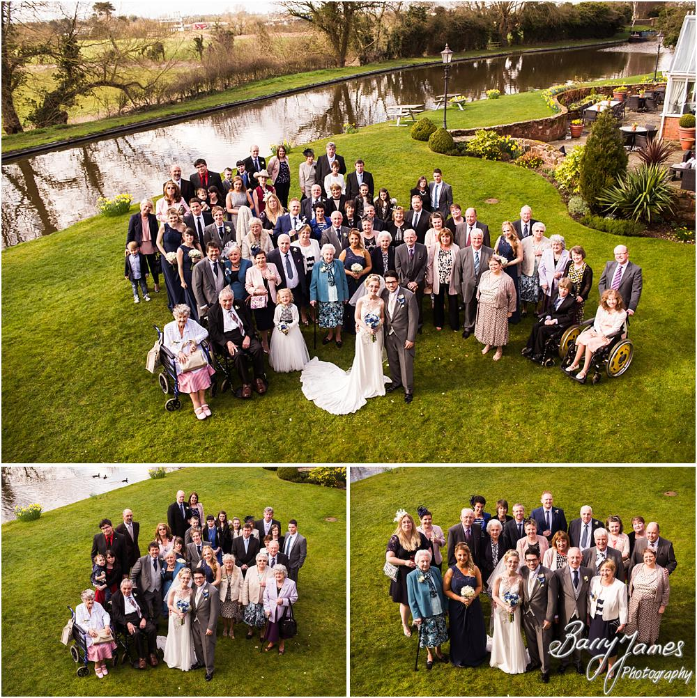 Rebecca + David's Spring Wedding At The Moat House