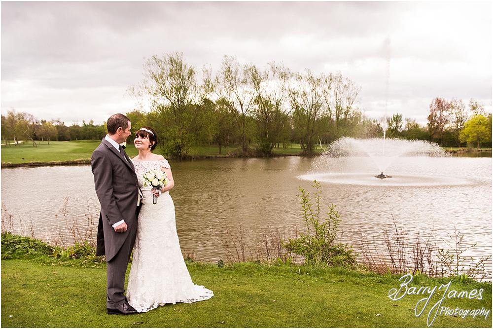 Creative portraits around the grounds of Calderfields in Walsall by Calderfields Wedding Photographers Barry James