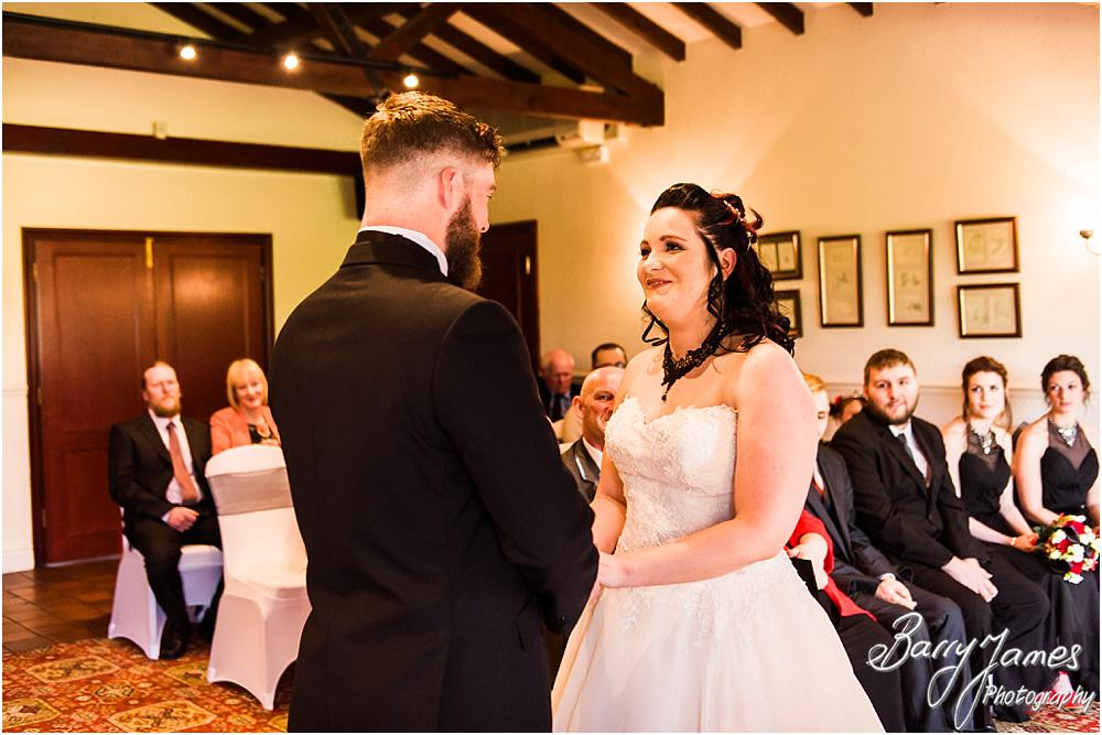Unobtrusive photographs that truly capture the story of the wedding at Oak Farm Hotel in Cannock Wedding Photographers Barry James