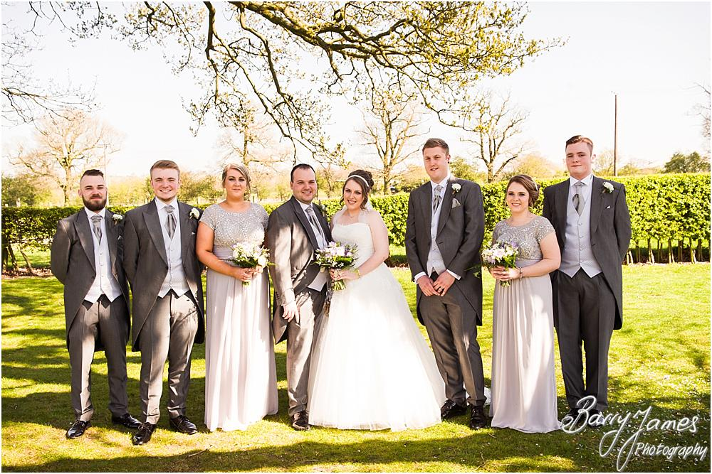 Relaxed family portraits in the spring sunshine at Oak Farm Hotel in Cannock by Contemporary Cannock Wedding Photographer Barry James