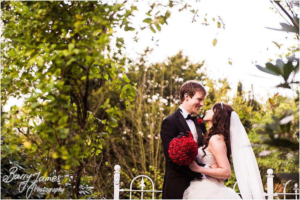 Gorgeous wedding photographs at Hawkesyard Hall in Rugeley by Rugeley Wedding Photographer Barry James
