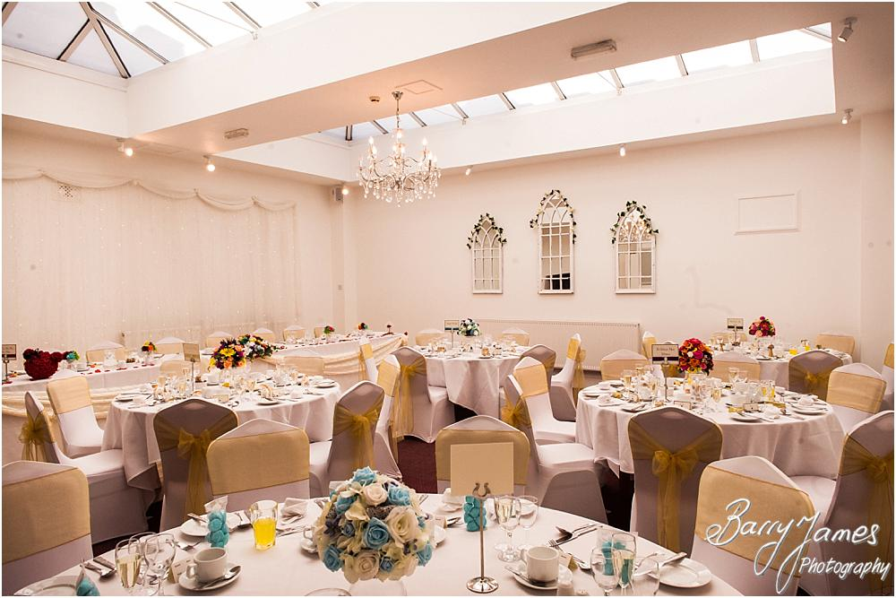 Photographs that show the stunning attention and detailing for the disney themed wedding at Hawkesyard Hall in Rugeley by Rugeley Wedding Photographer Barry James