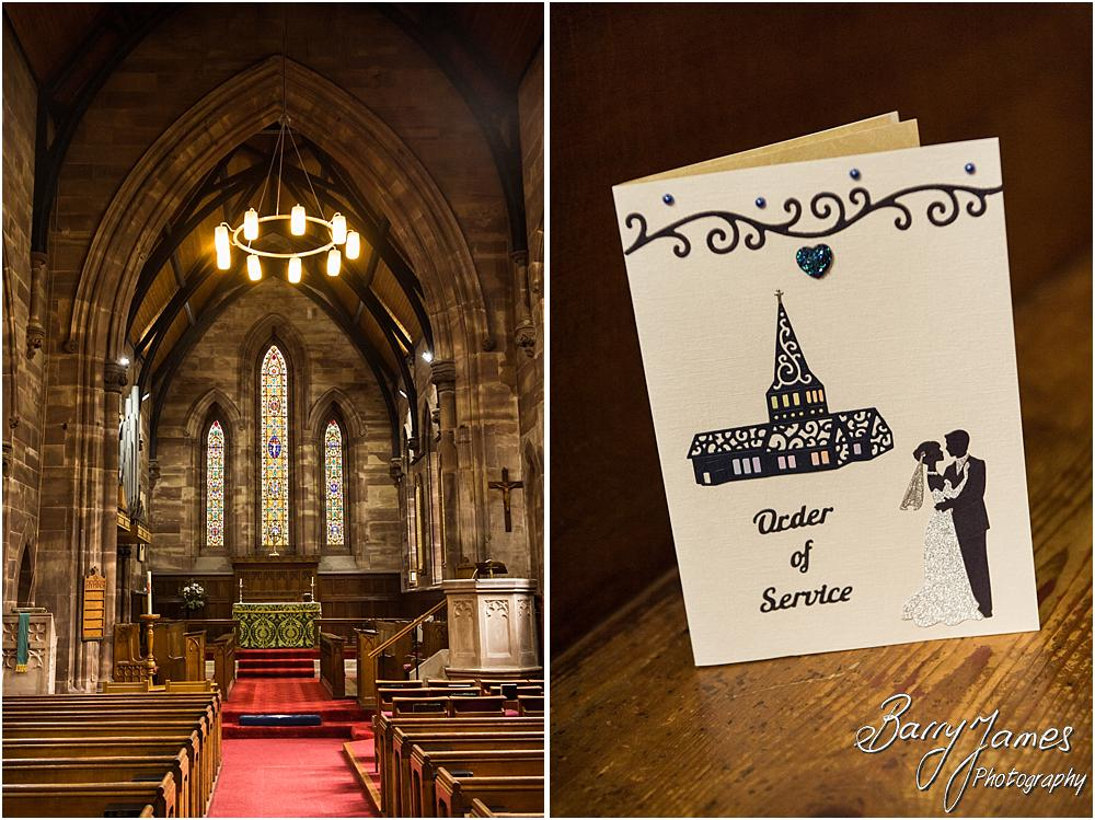 Creative storytelling wedding photography at St Marks in Great Wyrley by Walsall Wedding Photographer Barry James