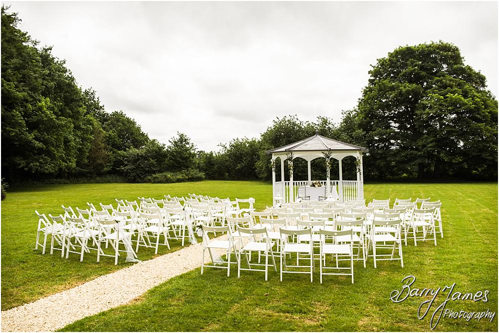 Beautiful photographs of the wedding setting at Somerford Hall in Brewood by Wolverhampton Wedding Photographer Barry James