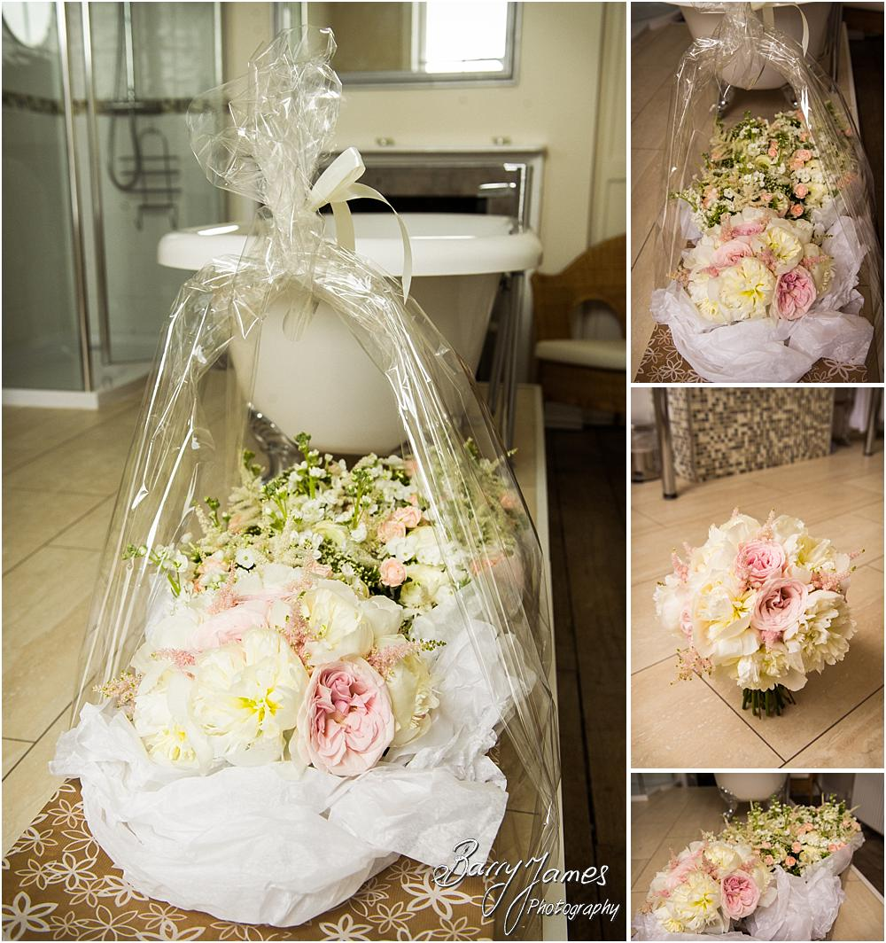 Perfect flowers for the wedding at Somerford Hall in Brewood by Wolverhampton Wedding Photographer Barry James