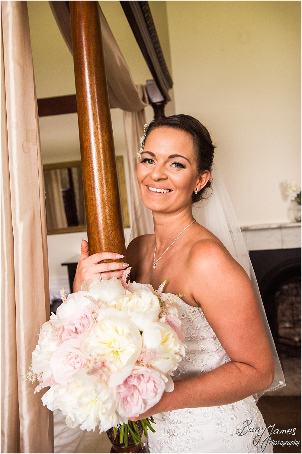 Relaxed portraits of the bridal party ahead of the wedding at Somerford Hall in Brewood by Wolverhampton Wedding Photographer Barry James