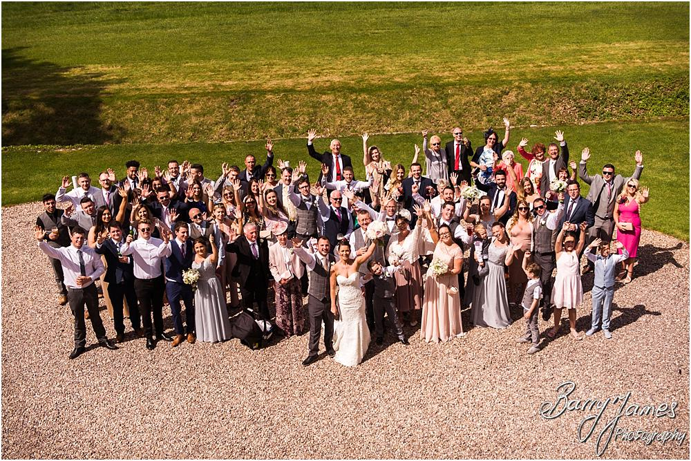 Relaxed family photographs in the gardens at Somerford Hall in Brewood by Wolverhampton Wedding Photographer Barry James