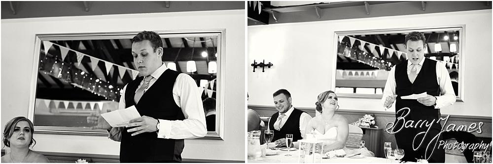 Fabulous speech from the best man at Oak Farm in Cannock by Cannock Wedding Photographer Barry James