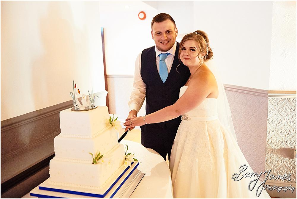 Capturing the fabulous cake from Kathryns Homemade Cakes at Oak Farm in Cannock by Cannock Wedding Photographer Barry James
