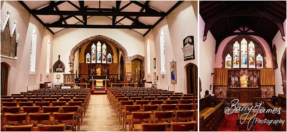 Wedding photographs at St Michaels Pelsall by Walsall Wedding Photographer Barry James