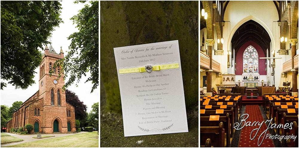 The stunning setting of All Saints Church in Bloxwich by Walsall Wedding Photographer Barry James
