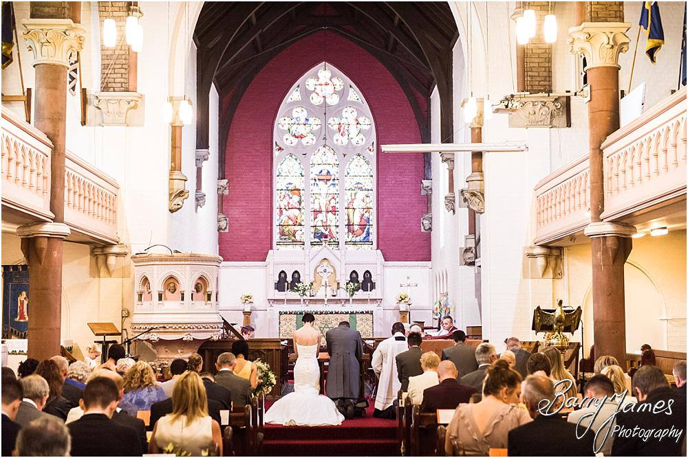 Natural wedding photos at All Saints Church in Bloxwich by Walsall Wedding Photographer Barry James